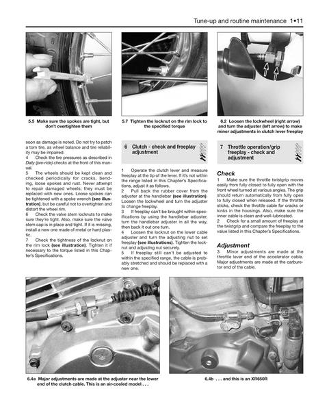 Instrukcja Serwisowa Honda XL 600 R XR 600 650