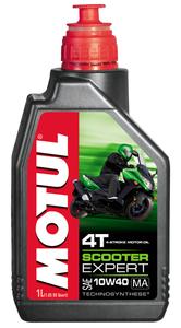 Olej silnikowy Motul Scooter Expert 4T 10W40 1L Półsyntetyczny
