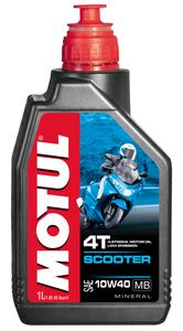 Olej silnikowy Motul Scooter 4T 10W40 1L mineralny