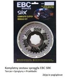 Sprzęgło - kompletny zestaw - seria SRK - firmy EBC