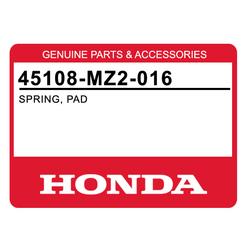 Blaszka sprężynująca klocka hamulcowego przód Honda CB 1100 CBR 1000