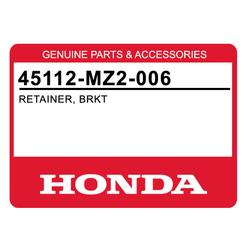 Blaszka sprężynująca klocka hamulcowego przód Honda CB 600 1000