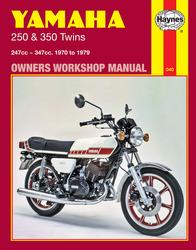 Instrukcja serwisowa Yamaha RD 250 350