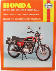 Instrukcja serwisowa Honda CB 125 160 175 200