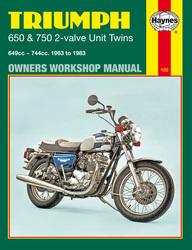 Instrukcja serwisowa Triumph 650 and 750 Twins 63-83