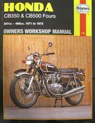 Instrukcja serwisowa Honda CB 350 500 Fours