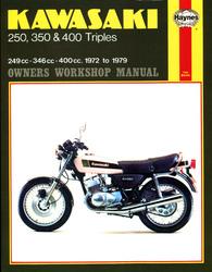 Instrukcja serwisowa Kawasaki KH 250 350 400 Triples