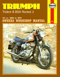 Instrukcja serwisowa Triumph Trident 69-75 BSA Rocket 69-72