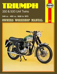 Instrukcja serwisowa Triumph 350 & 500 Unit Twins 58-73