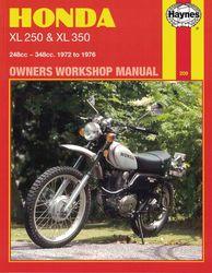 Instrukcja serwisowa Honda XL 250 K 76-77 XL 350 K 74-78