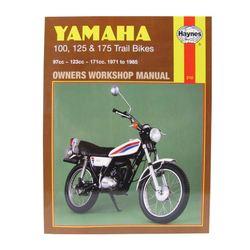 Instrukcja serwisowa Yamaha 100 125 175 Trail Bikes