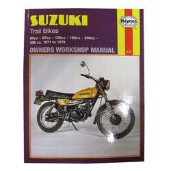 Instrukcja serwisowa Suzuki TS 100 250 Trail Bikes