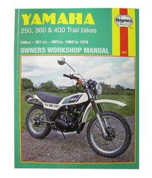 Instrukcja serwisowa Yamaha 250 360 400 Trail Bikes