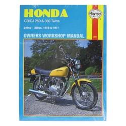Instrukcja serwisowa Honda CJ 250 T 77 CB 360 74-76 CJ 360 T 78