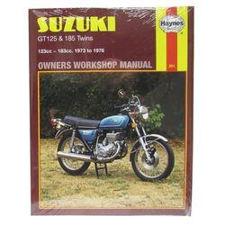 Instrukcja serwisowa Suzuki GT 125 74-76