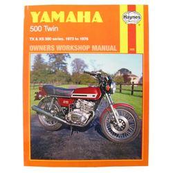 Instrukcja serwisowa Yamaha TX 500 73-74 XS 500 75-76
