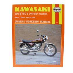 Instrukcja serwisowa Kawasaki H1 500 KH 500