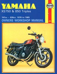 Instrukcja serwisowa Yamaha XS 750 850