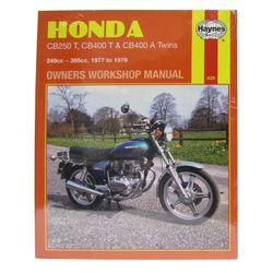 Instrukcja serwisowa Honda CB 250 400