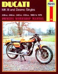 Instrukcja serwisowa Ducati MkIII & Desmo Singles 69-76