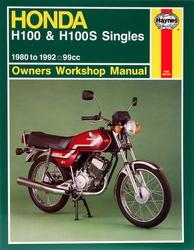 Instrukcja serwisowa Honda H 100 80-93