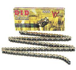 Łańcuch napędowy VX X-Ring Premium - złoty i czarny