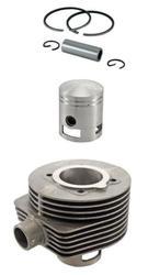 Cylinder plus tłok - zestaw z elementami montażowymi