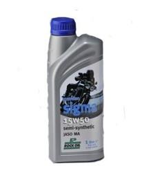 Olej silnikowy - Sigma - Pół syntetyk - 15W50 - firmy Rock Oil - 1 litr
