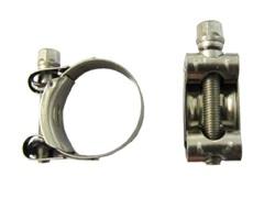Obejma łącząca układ wydechowy (stal nierdzewna) Honda CRM 125 XL 125