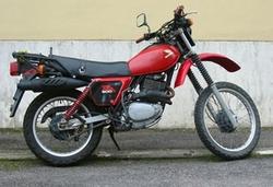Tłumik czarny Honda XL 500 82-85