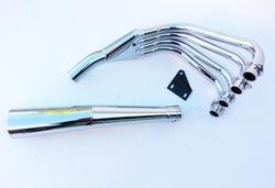 Układ wydechowy chrom Suzuki GSX 1100