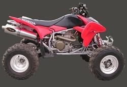 Tłumik aluminium Honda TRX 450
