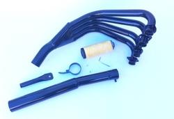 Układ wydechowy czarny Suzuki GSX 1100 82-83