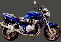 Tłumik aluminium Suzuki GSF 600 Bandit 00-04