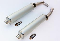 Tłumiki aluminium Honda VTR 1000 F Firestorm 97-02