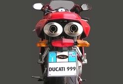 Tłumiki aluminium Ducati 999