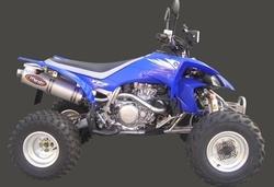 Układ wydechowy aluminium Yamaha YFZ 450