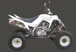 Układ wydechowy aluminium Yamaha YFM 700 RAPTOR
