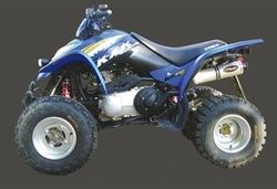 Układ wydechowy aluminium Kymco KXR 250