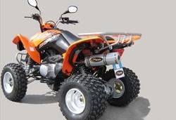 Układ wydechowy aluminium Kymco MXU 300 Maxxer 300