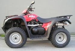 Tłumik aluminium Kymco MXU 500