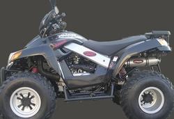 Tłumik aluminium Sym Quadlander 250 06-10
