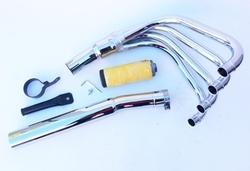 Układ wydechowy chrom Suzuki GS 500