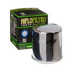 Filtr oleju - chromowany - firmy HiFlo