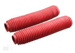 Gumowe osłony lag czerwone Honda NX 650 Dominator SLR 650 XL 600 XR 600