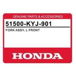 Amortyzator przedniego zawieszenia lewy komplet Honda CBR 250 11-15