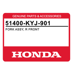 Amortyzator przedniego zawieszenia prawy komplet Honda CBR 250 11-15