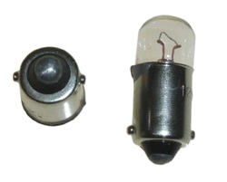 Żarówka podświetlenia zegarów BA9 6V 2W 9mm Honda CT 125 85 NP 50 83