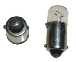 Żarówka podświetlenia zegarów - BA9s (9mm) 3W