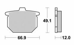 Klocki hamulcowe przód Honda CX 500 79-81
